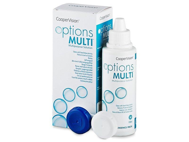 Soluție  Options Multi 100ml  - soluție de curățare