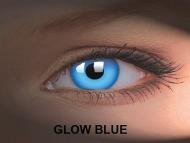 Crazy GLOW (2lentile) - Glow Blue