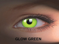 Crazy GLOW (2lentile) - Glow Green