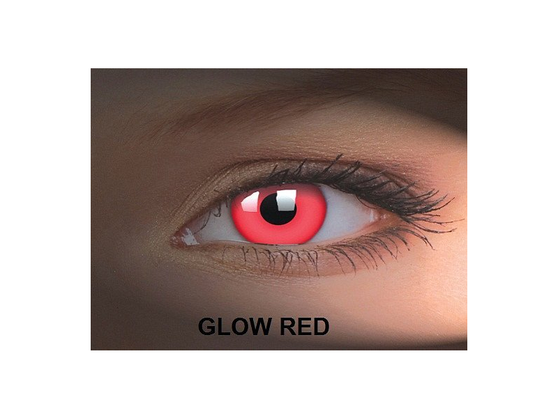 Crazy GLOW (2lentile) - Glow Red