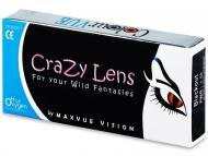 Lentile de contact Maxvue Vision - ColourVUE - Crazy - cu dioptrie (2lentile)