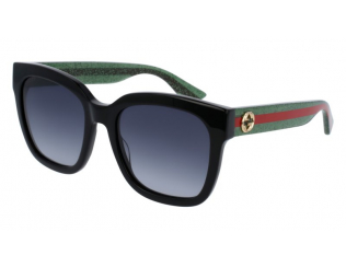 Ochelari de soare - Pătrați - Gucci GG0034S-002