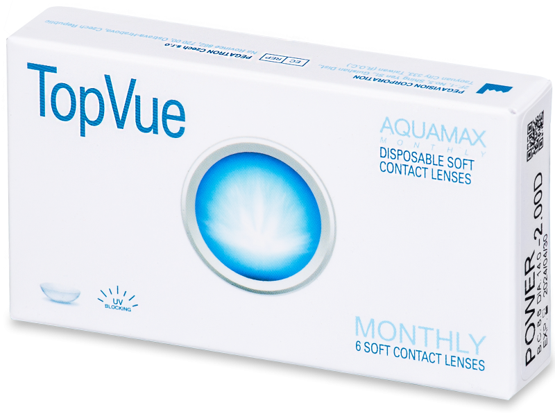 TopVue Monthly (6lentile) - Lentile de contact lunare