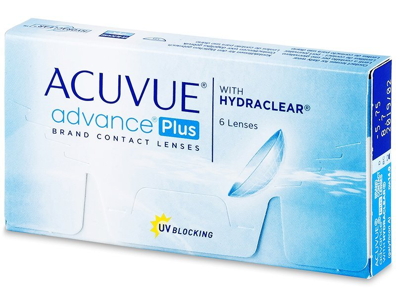 Acuvue Advance PLUS (6 lentile) - Bi-weekly contact lenses
