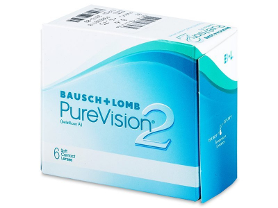 PureVision 2 (6lentile) - Lentile de contact lunare