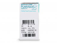 PureVision 2 (6lentile) - vizualizare parametrii