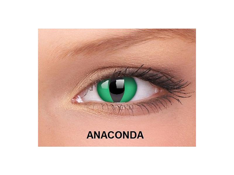 ColourVUE - Crazy - fără dioptrie (2lentile) - Anaconda