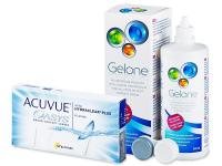 Acuvue Oasys (6lentile) +soluțieGelone360ml - Pachet avantajos