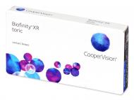 Lentile de contact Cooper Vision - Biofinity XR Toric (3 lentile)