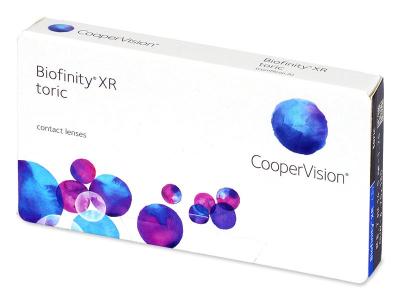 Biofinity XR Toric (3 lentile) - Lentile de contact pentru astigmatism