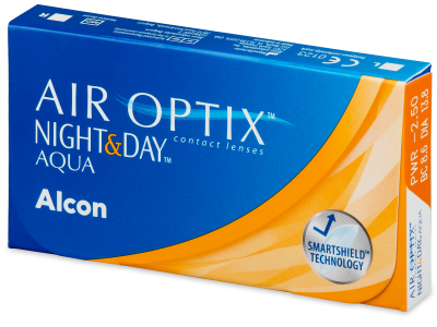 Air Optix Night and Day Aqua (3 lentile)